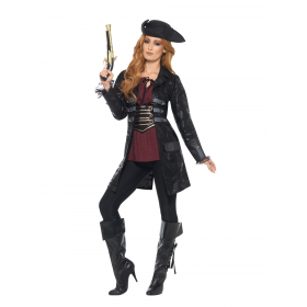 Pirate Jacket, Ladies Fancy Dress Costume