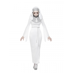 Haunted Asylum Nun Costume Fancy Dress