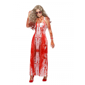 Bloody Prom Queen Costume Fancy Dress