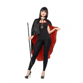 Vampire Kit, with Reversible Cape Fancy Dress Costume