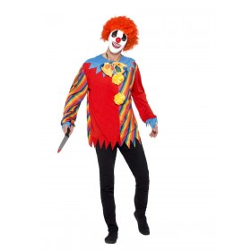 Creepy Clown Kit Fancy Dress Costume