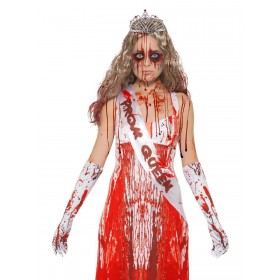 Bloody Prom Queen Kit Fancy Dress Costume