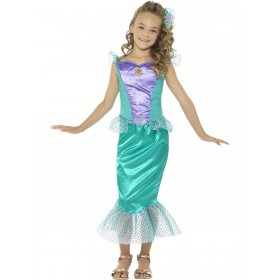 Deluxe Mermaid Costume Fancy Dress