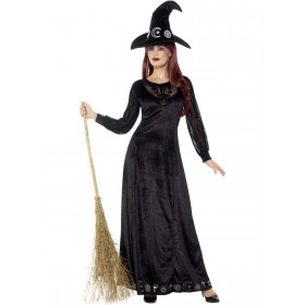 Deluxe Witch Craft Costume Fancy Dress