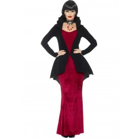 Deluxe Regal Vampiress Costume Fancy Dress