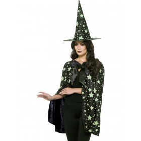 Midnight Witch Kit Fancy Dress Costume