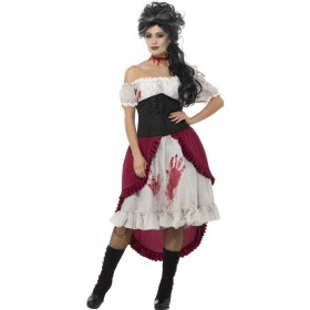Victorian Slasher Victim Costume Fancy Dress