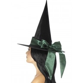 Deluxe Witch Hat Fancy Dress Accessory