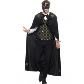 Deluxe Phantom Costume Fancy Dress