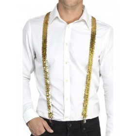 Sequin Braces Fancy Dress Accessory