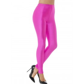 80s Disco Spandex Leggings Fancy Dress Costume