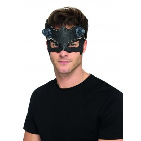 Devil Studded Eyemask Fancy Dress Accessory