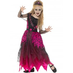 Deluxe Gothic Prom Queen Costume Fancy Dress