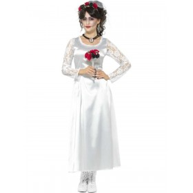 Day of the Dead Bride Costume Fancy Dress