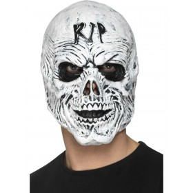 R.I.P Grim Reaper Mask, Foam Latex Fancy Dress Accessory