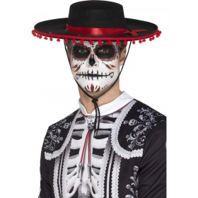 Day of the Dead Senor Hat Fancy Dress Accessory