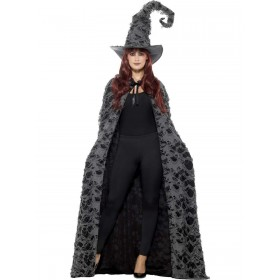 Deluxe Spellcaster Cape Fancy Dress Costume