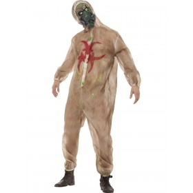 Zombie Biohazard Costume Fancy Dress