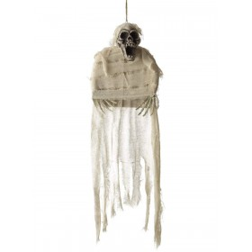Hanging Mummy Skeleton Decoration Fancy Dress Accessory