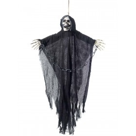 Hanging Reaper Skeleton Decoration Fancy Dress Accessory