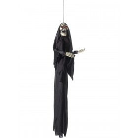 Animated Hanging Skeleton Decoration Fancy Dress Accessory