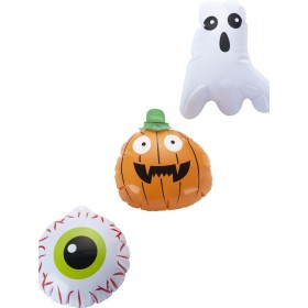 Mini Halloween Inflatables, Set of 3 Fancy Dress Accessory