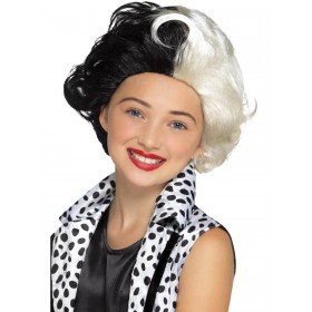 Evil Madame Wig Fancy Dress Accessory