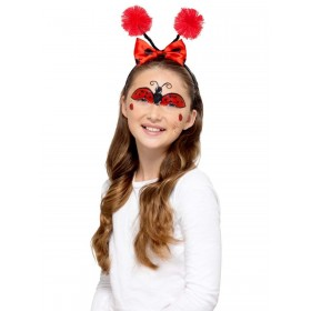 Kids Bug Make Up Kit, Aqua Fancy Dress Accessory