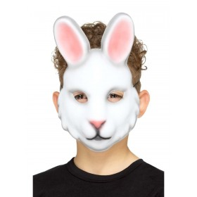 Rabbit Mask Fancy Dress Accessory