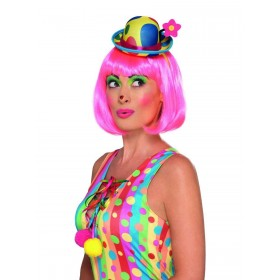 Clown Mini Hat Headband Fancy Dress Accessory