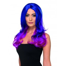 Fashion Ombre Wig, Wavy, Long Fancy Dress Accessory