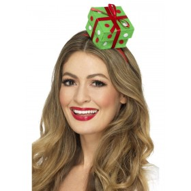 Festive Present Headband Fancy Dress Accessory