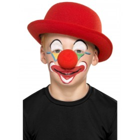 Family Clown Cosmetic Kit, Aqua Fancy Dress Accessory