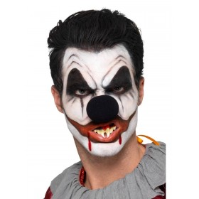 Killer Clown Cosmetic Kit, Aqua Fancy Dress Accessory