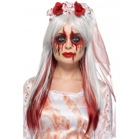 Blood Drip Bride Cosmetic Kit, Aqua Fancy Dress Accessory