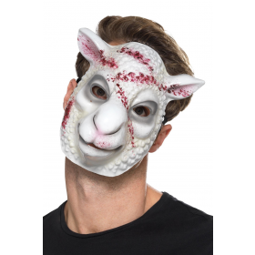 Evil Sheep Killer Mask Fancy Dress Accessory