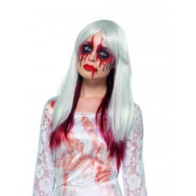 Deluxe Blood Drip Ombre Wig Fancy Dress Accessory