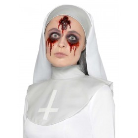 Latex Cross Wound Prosthetic Fancy Dress Accessory