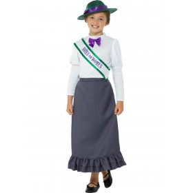 Victorian Suffragette Costume Fancy Dress
