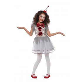 Vintage Clown Girl Costume Fancy Dress
