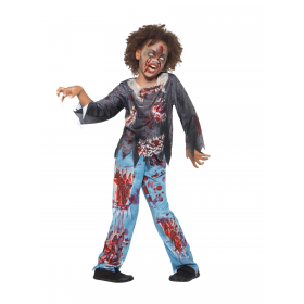 Zombie Child Costume Fancy Dress