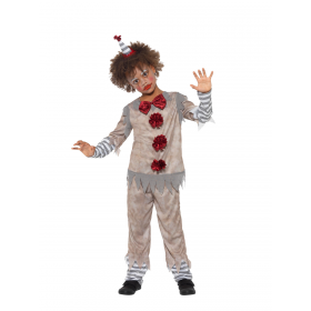 Vintage Clown Boy Costume Fancy Dress