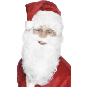 Santa Beard - Fancy Dress Mens (Christmas)