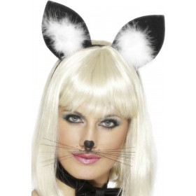 Cat Ears - Fancy Dress Ladies (Animals)