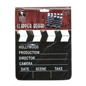 Hollywood Style Clapper Board - Fancy Dress (1920S)