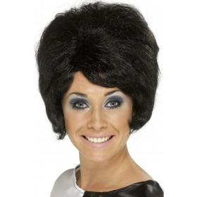 Sixties Beehive Wig - Fancy Dress Ladies (1960S) - Black