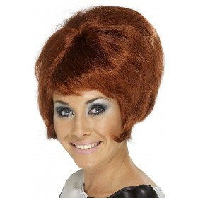 Sixties Beehive Wig - Fancy Dress Ladies (1960S) - Auburn