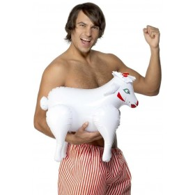Inflatable Sheep - Fancy Dress Mens (Hen & Stag)