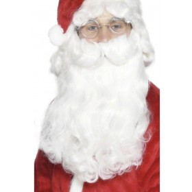 Deluxe Santa Beard - Fancy Dress Mens (Animals)
