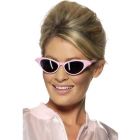 Flyaway Style Rock And Roll Sunglasses - Fancy Dress (1950S)